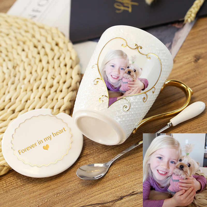 Personalized photo cup